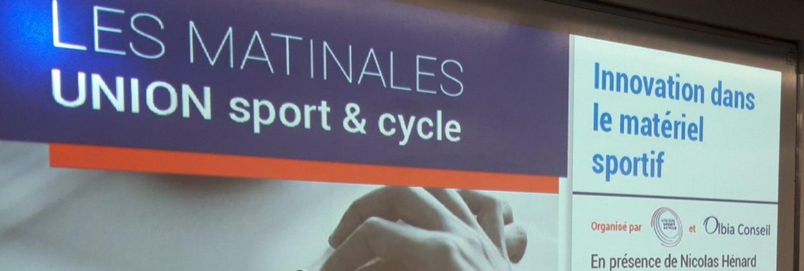 Innovation dans le matériel sportif, compte-rendu #MATINALESUSC